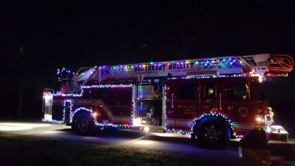Light up shepherdsville parade 2015